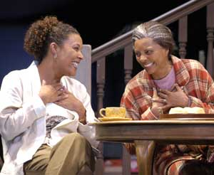 Linda Powell and Leslie Uggams in On Golden Pond(Photo © Scott Schuman)