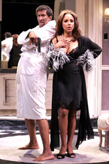 Reg E. Cathey and Lynn Whitfield in White Chocolate (Photo © Richard Termine)