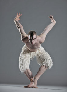 Richard Winsor as The Swan