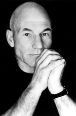 Patrick Stewart,currently starring inThe Ride Down Mt. Morgan