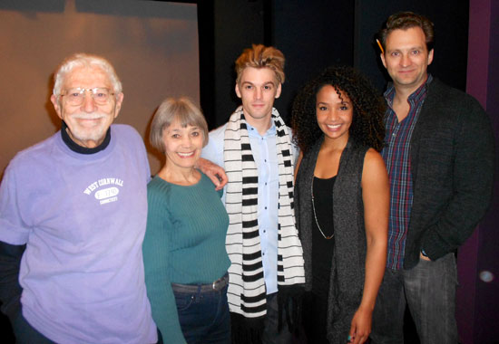 Tom Jones, Susan Watson, Aaron Carter, Stephanie Umoh, and Graham Rowat