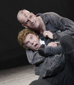 Benedict Cumberbatch and Jonny Lee Miller