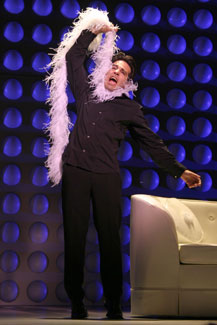 Mario Cantone in Laugh Whore(Photo © Bill Streicher)
