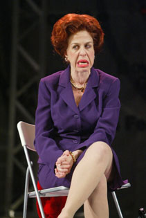 "Jackie Hoffman in ""Pride and Joy,""one of The Downtown Plays(Photo © Joan Marcus)"