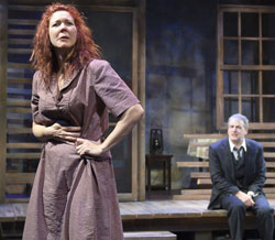 Kim Martin-Cotten and Andrew May