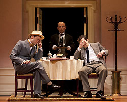 James Urbaniak, Everett Quinton, and
