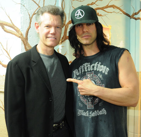 Randy Travis and Criss Angel