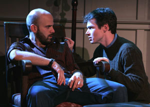 Joe Thompson and John Jimerson in TWO BROTHERS who are not brothers