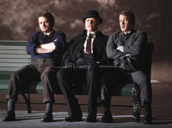 Allan Clayton, Rod Gilfry, and Philip Cutlip