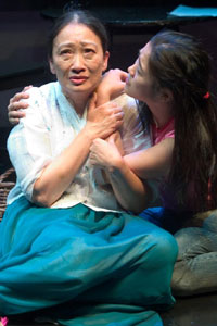 Tina Chen and Ji-young Kim in Comfort Women
