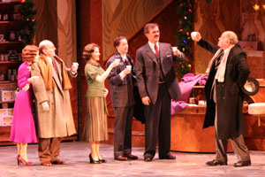 Nancy Anderson, Bill Bateman, Michele Ragusa,Bradford William Anderson, George Dvorsky, andGeorge S. Irving in She Loves Me(Photo © Jerry Dalia)