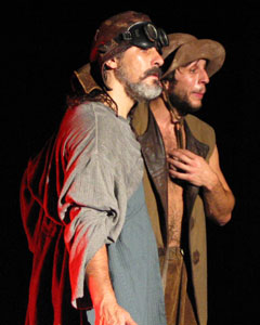 Carlos Uriona and  Matthew Glassman in The UnPOSSESSED