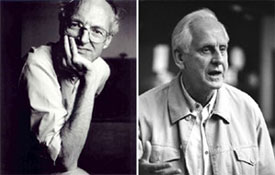 Michael Frayn and Michael Blakemore(Photos &copy; Jillian Edelstein and Conrad Blakemore)