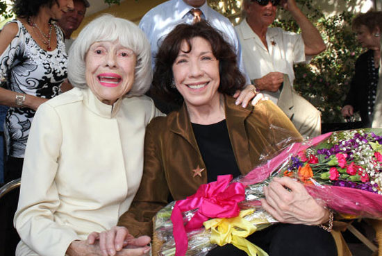 Carol Channing and Lily Tomlin