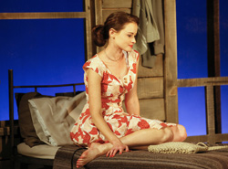 Alexis Bledel in Regrets ( Carol Rosegg)