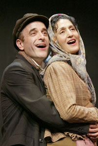 Adam Heller and Jacqueline Antaramianin The Immigrant(Photo © Carol Rosegg)