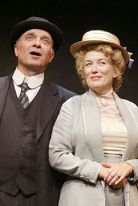 Walter Charles and Cass Morganin The Immigrant(Photo © Carol Rosegg)