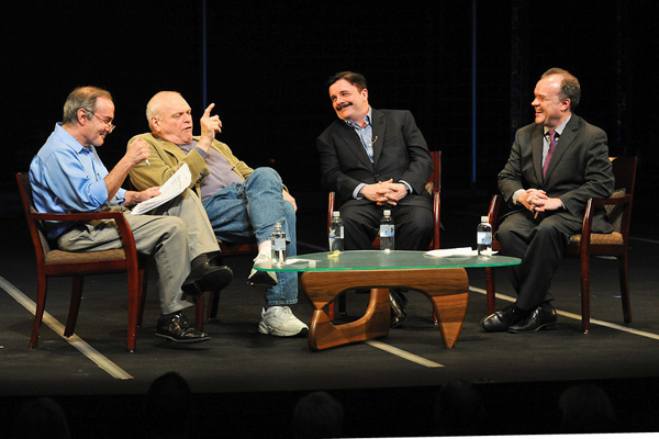 Rick Kogan, Brian Dennehy, Nathan Lane, Chris Jones