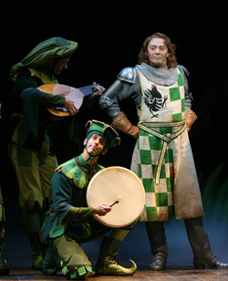 Clay Aiken in Monty Python's Spamalot