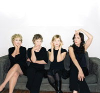 Robin Duke, Jayne Eastwood, Kathryn Greenwood, and Teresa Pavlinek