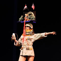 A scene from the 2011 Easter Bonnet Competition