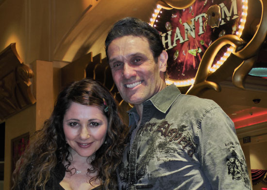 Frances Ruffelle and Anthony Crivello