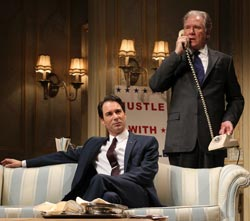 Eric McCormack and John Larroquette
