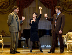 Michael Cumpsty, Tracie Bennett, and