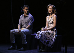 Will Chase and Laura Osnes in Pipe Dream