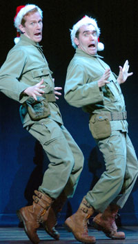 Jeffry Denman and Brian d'Arcy Jamesin White Christmas