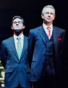 Richard Thomas and James Naughtonin Democracy(Photo &copy; Don Perdue)