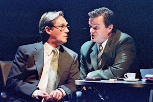 Richard Thomas and Michael Cumpsty in Democracy(Photo © Don Perdue)