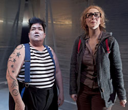 Lea DeLaria and Jillian Crane