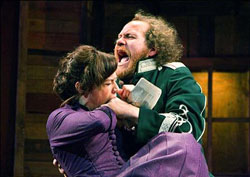 Maggie Siff and Andy Grotelueschen