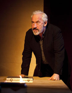 Simon Callow in Being Shakespeare