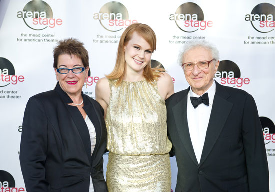 Molly Smith, Kate Baldwin, and Sheldon Harnick