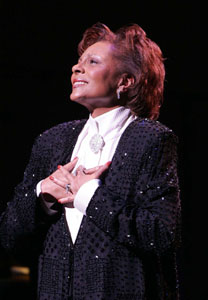 Leslie Uggams in the Encores! Bash(Photo © Joan Marcus)