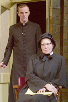 Brían F. O'Byrne and Cherry Jones in Doubt(Photo © Joan Marcus)