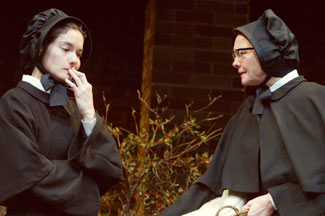Heather Goldenhersh and Cherry Jones in Doubt(Photo © Joan Marcus)