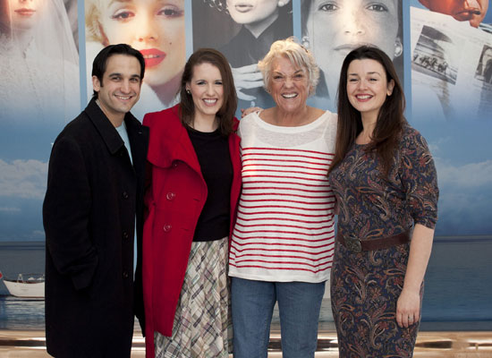 Jeremy Cohen, Naomi O'Connell, Tyne Daly, and Dianne Pilkington
