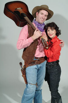 Christopher Chew and Kathy St. Georgein Johnny Guitar(Photo © Craig Bailey/Perspective Photo)