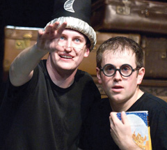 A scene from Potted Potter