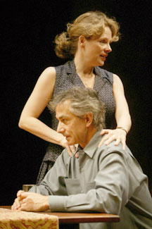 David Strathairn and Maryann Plunkettin Rodney's Wife(Photo © Joan Marcus)