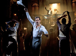 Ricky Martin (center) with Michael Ceveris