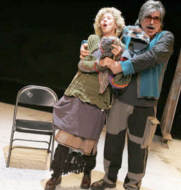 Valda Setterfield and David Gordon in The Chairs(Photo © Keith Pattison)