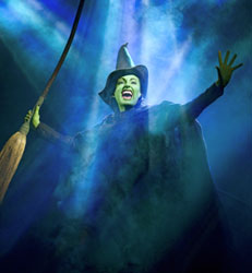 Jackie Burns in Wicked