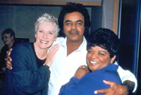 Mathis with Betty Buckleyand Nell Carter