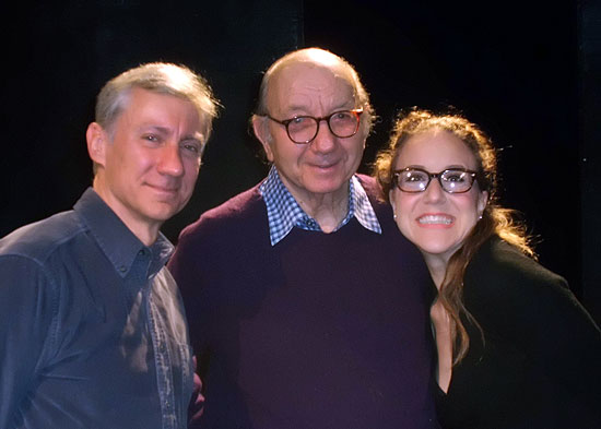 David Garrison, Neil Simon, and Jenn Harris