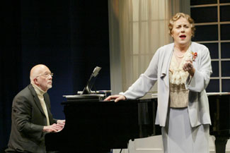 Jack F. Lee and Judy Kaye in Souvenir(Photo © Carol Rosegg)