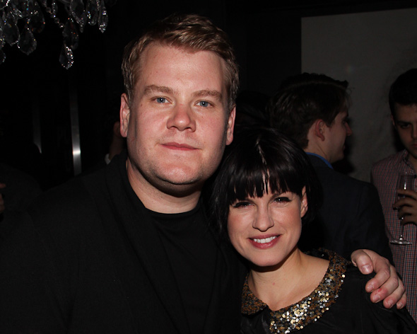 James Corden and Jemima Rooper